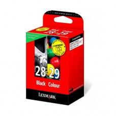 Lexmark #28/#29 pachet 2 cartuşe cerneală