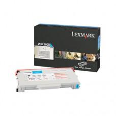 Lexmark 20K1400 cartuş toner cyan