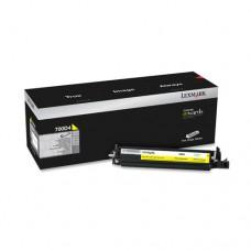Lexmark 700D4 unitate developare galben