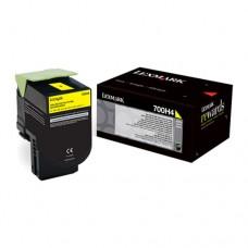 Lexmark 800H4 cartuş toner galben