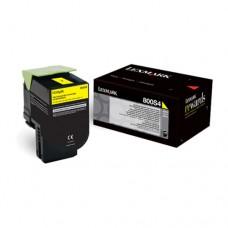 Lexmark 800S4 cartuş toner galben