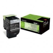Lexmark 802K cartuş toner negru