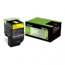 Lexmark 802Y cartuş toner galben