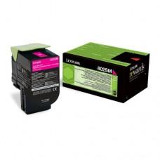 Lexmark 802SM cartuş toner magenta