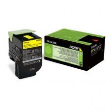 Lexmark 802SY cartuş toner galben
