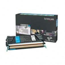 Lexmark C5200CS cartuş toner cyan