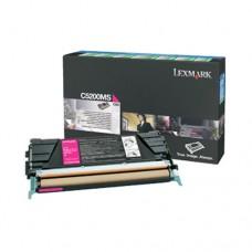 Lexmark C5200MS cartuş toner magenta