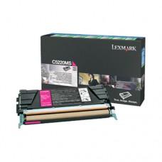 Lexmark C5220MS cartuş toner magenta