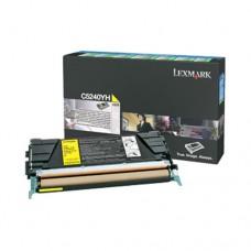 Lexmark C5240YH cartuş toner galben