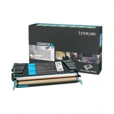 Lexmark C5340CX cartuş toner cyan