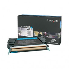 Lexmark C734A2CG cartuş toner cyan