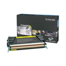 Lexmark C734A2YG cartuş toner galben
