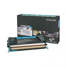 Lexmark C736H1CG cartuş toner cyan