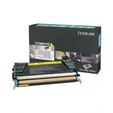 Lexmark C736H1YG cartuş toner galben
