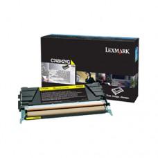 Lexmark C748H2YG cartuş toner galben