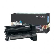 Lexmark C7700CH cartuş toner cyan