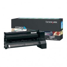 Lexmark C7720CX cartuş toner cyan