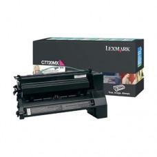 Lexmark C7720MX cartuş toner magenta