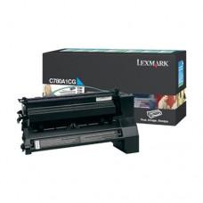 Lexmark C780A1CG cartuş toner cyan