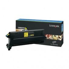 Lexmark C9202YH cartuş toner galben