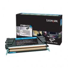 Lexmark X748H1CG cartuş toner cyan