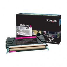 Lexmark X748H1MG cartuş toner magenta