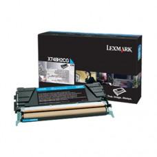 Lexmark X748H2CG cartuş toner cyan