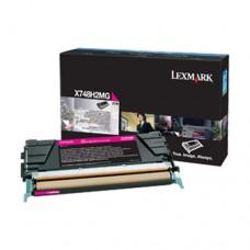 Lexmark X748H2MG cartuş toner magenta