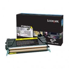 Lexmark X748H2YG cartuş toner galben