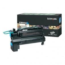 Lexmark X792X1CG cartuş toner cyan