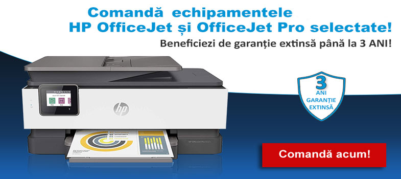 hp officejet 3 ani garantie