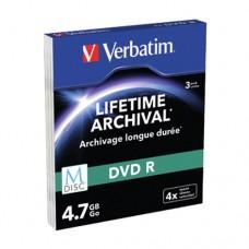 Verbatim M-Disc DVD R cutie subţire cu 3 bucăţi